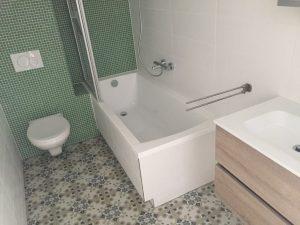Badkamer en toilet van amerongen bouw